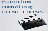 Function handling Functions in PHP