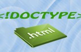 The DocType In HTML