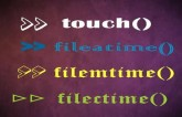 How to get File access and modification Time