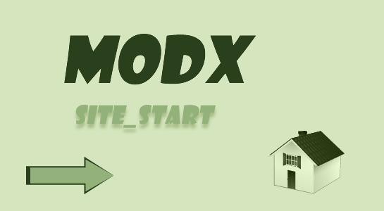 setup other resource as homepage in modx