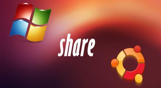 To access windows share in ubuntu