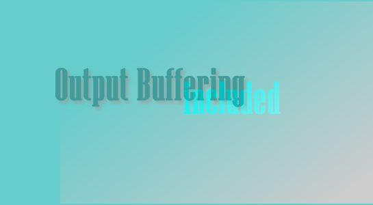 Include a file and store contents to variable using output buffer