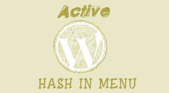 Active Menu using jquery in Wordpress