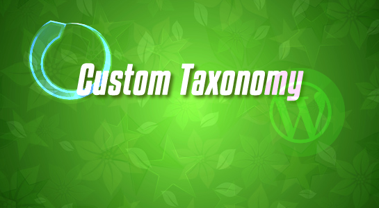 To create extra field into category or Custom Taxonomy in Wordpress