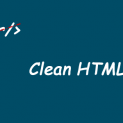 Clean HTML content in PHP
