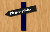 Set DirectoryIndex using .htaccess