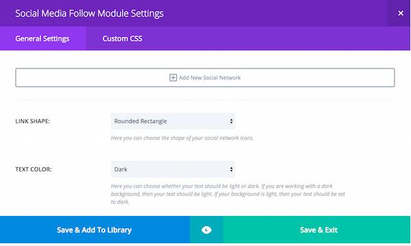 social-media-follow-module-setting