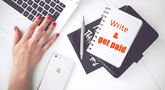 write and get paid